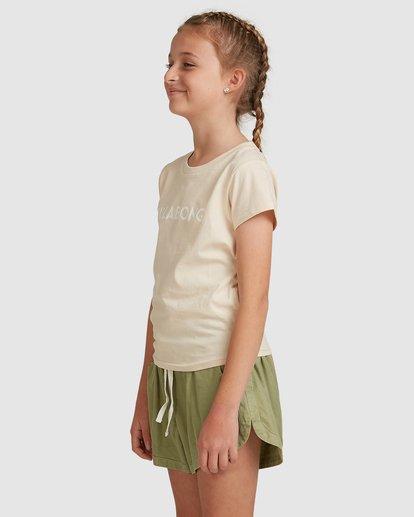 2 Dancer Short Sleeve Tee White 5517001 Billabong