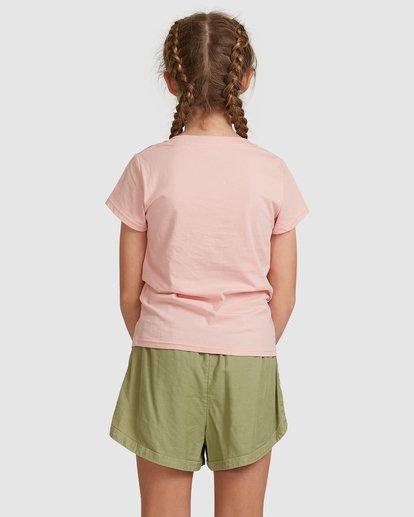 3 Dancer Short Sleeve Tee Pink 5517001 Billabong