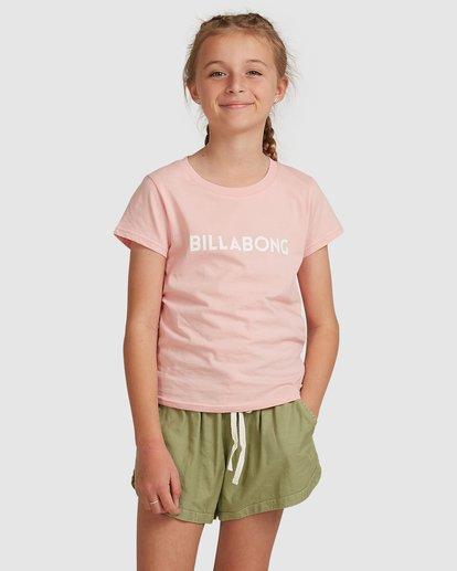 1 Dancer Short Sleeve Tee Pink 5517001 Billabong
