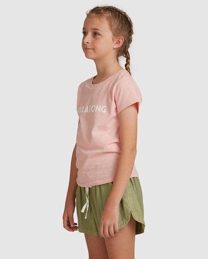 2 Dancer Short Sleeve Tee Pink 5517001 Billabong