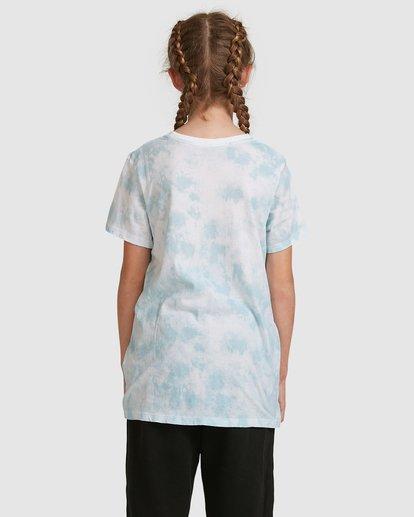 3 Tiedye Love Short Sleeve Tee Blue 5517002 Billabong