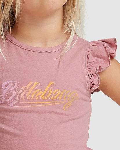 3 To The Beat Short Sleeve Tee Red 5517071 Billabong