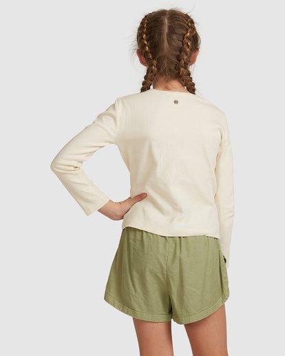 3 Jade Long Sleeve Top White 5517171 Billabong