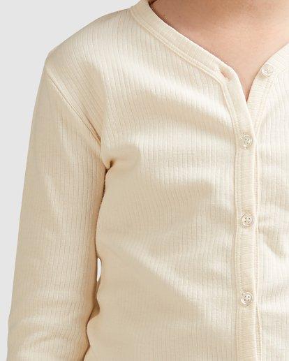 4 Jade Long Sleeve Top White 5517171 Billabong