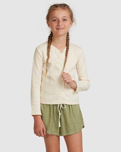 1 Jade Long Sleeve Top White 5517171 Billabong