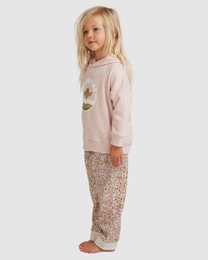 1 Girls 0-5 Sunset Shores Hoodie Pink 5517201 Billabong