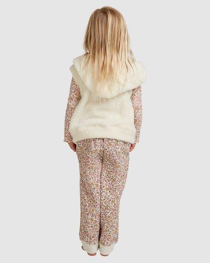 2 Snuggle Up Hooded Zip Thru Vest White 5517204 Billabong