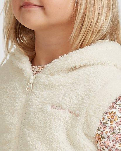 3 Snuggle Up Hooded Zip Thru Vest White 5517204 Billabong