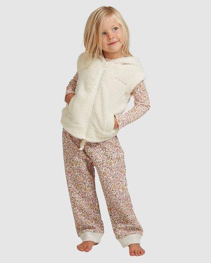 0 Snuggle Up Hooded Zip Thru Vest White 5517204 Billabong
