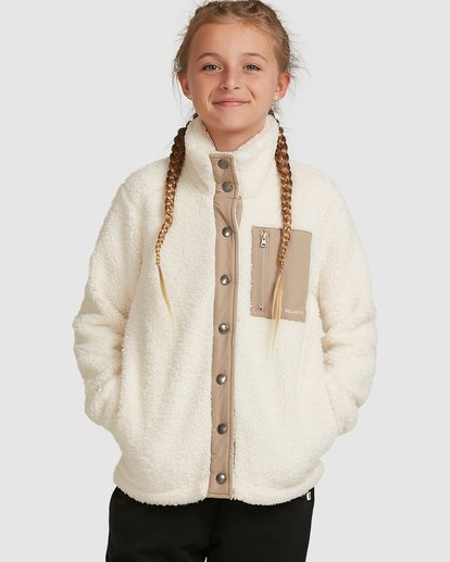 0 Warm & Cozy Jacket White 5517261 Billabong