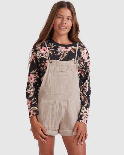 0 Girls 6-14 Montana Jumpsuit Brown 5517520 Billabong