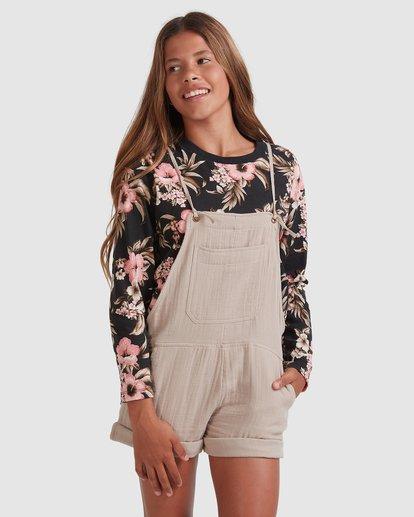 1 Girls 6-14 Montana Jumpsuit Brown 5517520 Billabong