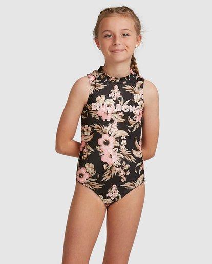 0 Girls 6-14 Summertime Onepiece Black 5517702 Billabong