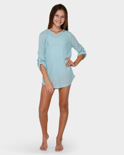 3 TEEN SOL BEACH COVER UP Green 5571151 Billabong