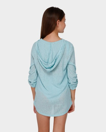 2 TEEN SOL BEACH COVER UP Green 5571151 Billabong