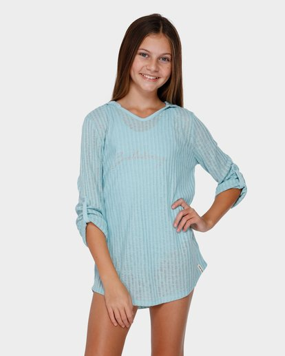 0 TEEN SOL BEACH COVER UP Green 5571151 Billabong