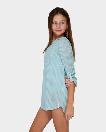 1 TEEN SOL BEACH COVER UP Green 5571151 Billabong