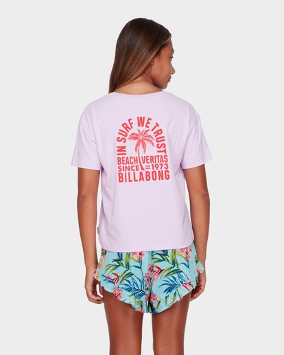 1 TEEN BEACH VIBES TEE  5582001 Billabong