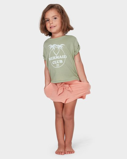 2 GIRLS EASY BREEZE TEE  5582004 Billabong
