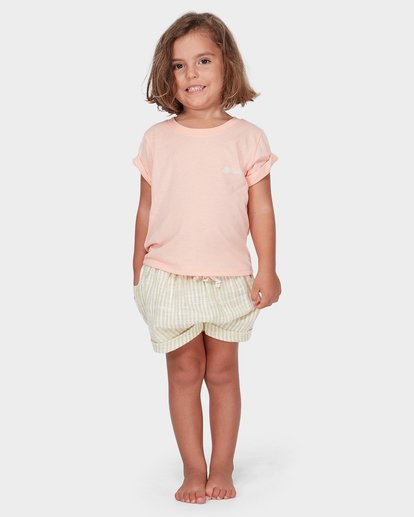 2 GIRLS EASY BREEZE TEE Orange 5582004 Billabong