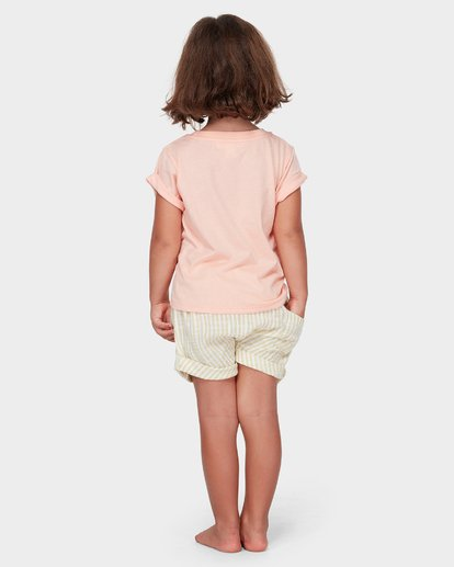 1 GIRLS EASY BREEZE TEE Orange 5582004 Billabong