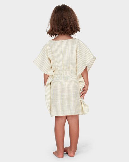 1 GIRLS SOLEIL STRIPE COVER UP Yellow 5582152 Billabong