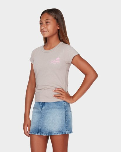 0 TEEN SIESTA BEACH TEE Brown 5582186 Billabong