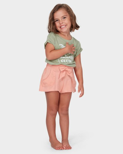 2 GIRLS PRETTY DAZE SHORT Beige 5582277 Billabong