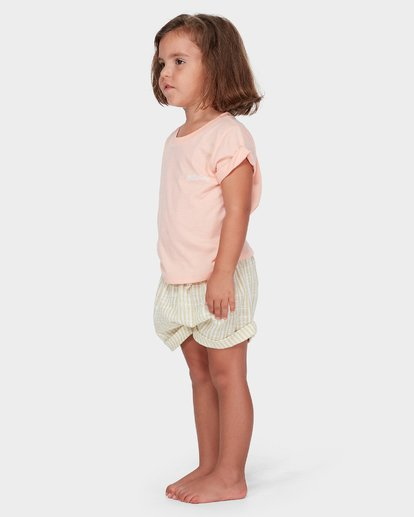0 GIRLS SOLEIL STRIPE SHORT  5582278 Billabong