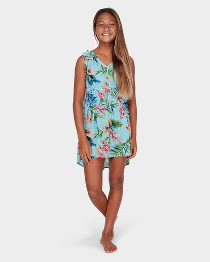 3 TEEN SOLSTICE DRESS Blue 5582471 Billabong