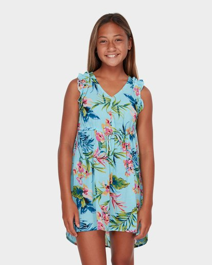 0 TEEN SOLSTICE DRESS Blue 5582471 Billabong