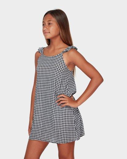 1 TEEN CHECK MATE DRESS Black 5582472 Billabong