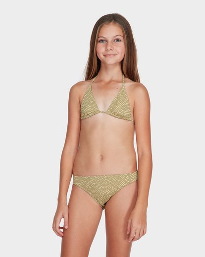 0 TEEN MASHA DOT TRI BIKINI SET  5582555 Billabong
