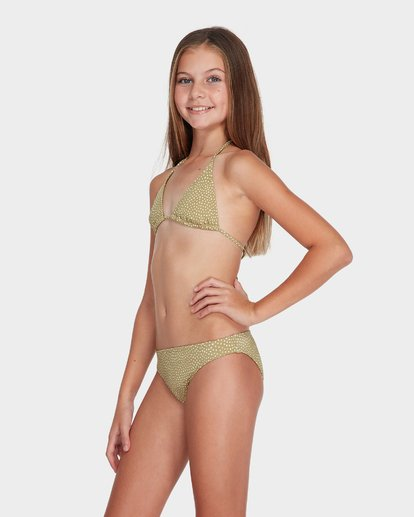 1 TEEN MASHA DOT TRI BIKINI SET  5582555 Billabong