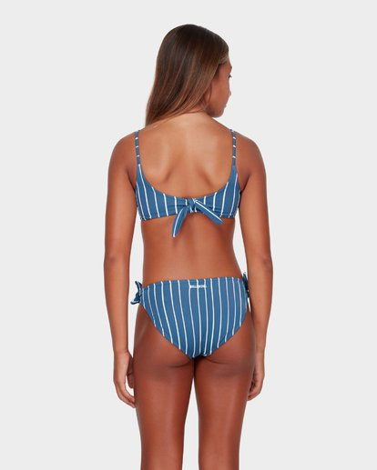 2 TEEN INDIGO STRIPE CROP BIKINI SET  5582556 Billabong