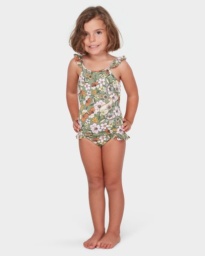 0 GIRLS FIORE ONE PIECE Green 5582568 Billabong