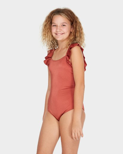 1 TEEN SHINE ONE PIECE Brown 5582570 Billabong