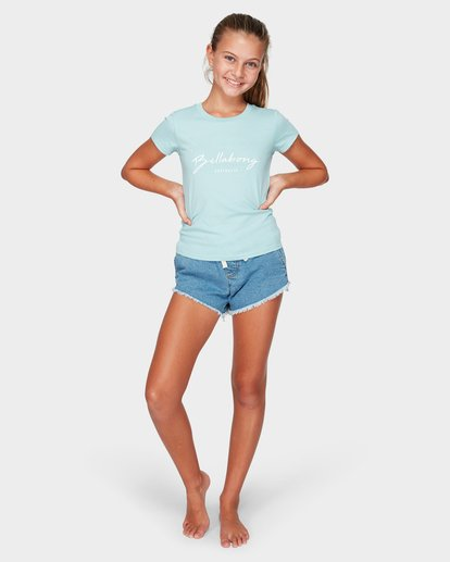 3 DEEP DIVE TEE Blue 5591001 Billabong