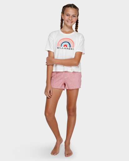 3 Rainbow Bay Tee White 5591002 Billabong