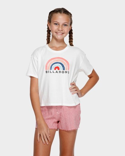 0 Rainbow Bay Tee White 5591002 Billabong