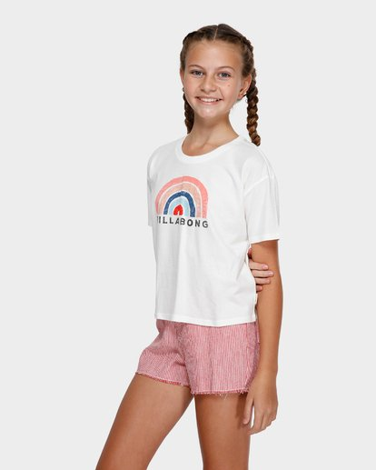 1 RAINBOW BAY TEE White 5591002 Billabong