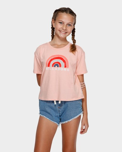 0 Rainbow Bay Tee Pink 5591002 Billabong