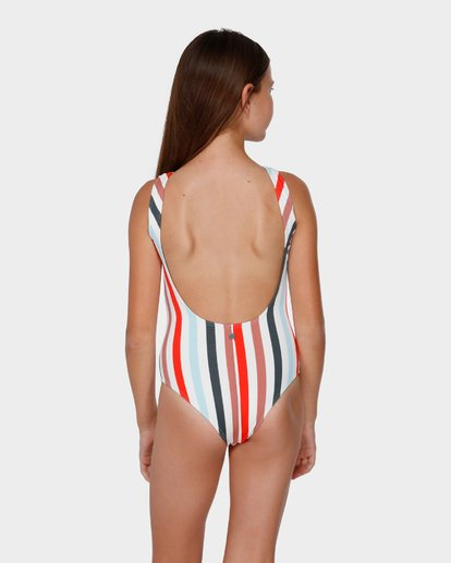 2 Fun Fair Stripe One Piece White 5591551 Billabong