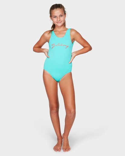 3 NEW AGE ONE PIECE Blue 5591557 Billabong