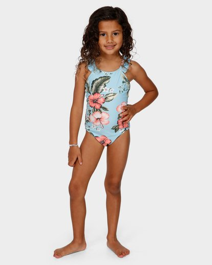 3 GIRLS SWEETHEART ONE PIECE Blue 5591561 Billabong