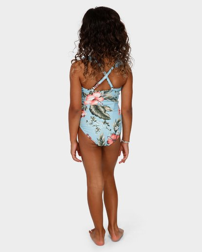 2 GIRLS SWEETHEART ONE PIECE Blue 5591561 Billabong