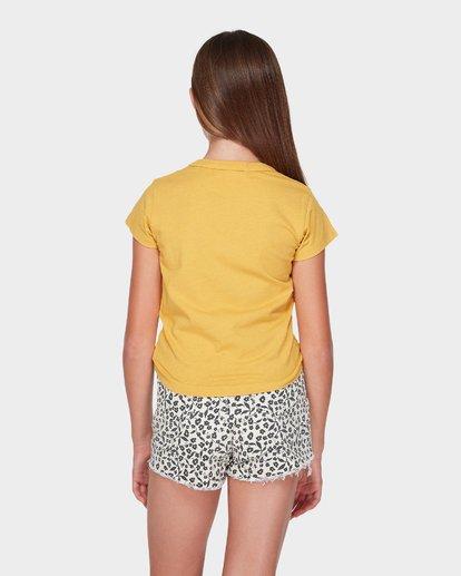 2 TEEN SADIE TEE Yellow 5595001 Billabong