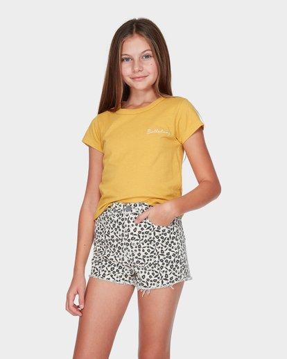 0 TEEN SADIE TEE Yellow 5595001 Billabong