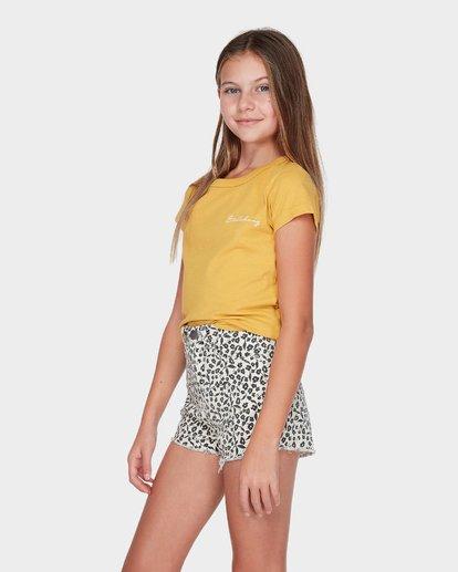 1 TEEN SADIE TEE Yellow 5595001 Billabong