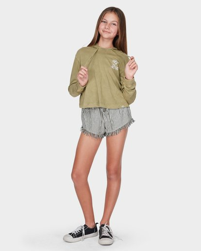 3 TEEN LOOSEN UP LONG SLEEVE TEE Green 5595071 Billabong